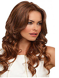 Brown Color Wigs White Women European Synthetic Black Women Wigs