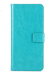 For Nokia Case Wallet / Card Holder / with Stand Case Full Body Case Solid Color Hard PU Leather Nokia Nokia Lumia 930