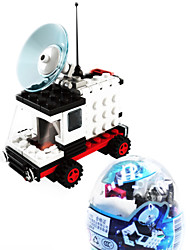 др пространство автомобиля 6702, ле бренд строительных блоков пространства сборки лего скручены яичных детские игрушки