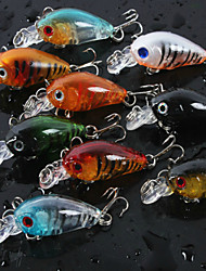 4.5cm 4g/pcs Fishing Lures Crank Bait Crankbait Tackle Swim Bait Wobblers Fishing Hard Crazy Fish Lure 8 PC/set