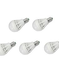 5pcs MORSEN® E27 7W 12xSMD5630 550LM LED Globe Bulbs
