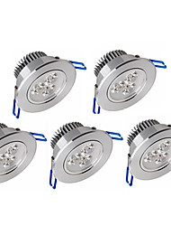 z®zdm 5pcs 3w 200-250lm support dimmable led de panneau LED plafonniers