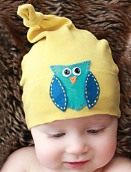 Kid's Handmake Lovely Owl Cotton Hat(1-4Years Old)