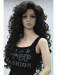 Amazing Mane!! Long Full Curly Wig - COLOUR CHOICES! Brown Blonde