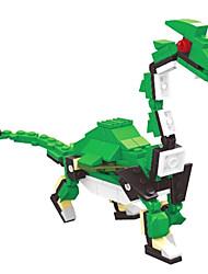 dr wan, Eier le Bausteine Dinosaurier verdreht Ei pädagogisches Spielzeug für Kinder 6805 Strom Drachen zu halten