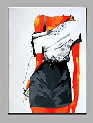 pintura a óleo moderna mão puro abstrato desenhar pronto para pendurar a óleo decorativa pintura das mulheres
