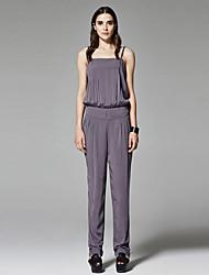 ZigZag® Women's Off Shoulder Sleeveless Vest & Waistcoat Gray - 11190