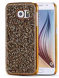 Für Samsung Galaxy S7 Edge Strass / Beschichtung Hülle Rückseitenabdeckung Hülle Glänzender Schein PC Samsung S7 edge / S7 / S6 edge / S6