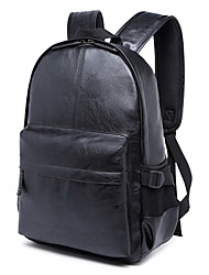 Men PU Sports / Casual / Outdoor / Shopping Backpack / School Bag-Brown / Black
