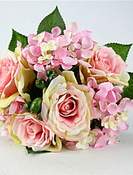 A Buach of  High Quality  Simulation Flower Flower Kit Simulation Artificial Flower for Wedding