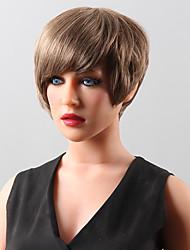 peluca de pelo peluca de cabello humano superior de la venta corta de 14 colores a elegir