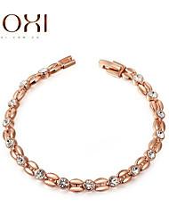 18k Gold Crystal Bracelet Bangle Jewelry for Lady