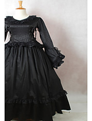 Steampunk®  Gothic Lolita Dresses Black Halloween Dress Wholesalelolita Design