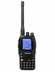 WOUXUN KG-UV9D NEW Walkie Talkie 5W/2W/1W 999 400-470MHz / 136-174MHz 2000mAh 3 km -5kmFM Radio / Notruf / PC-Software programmierbar /