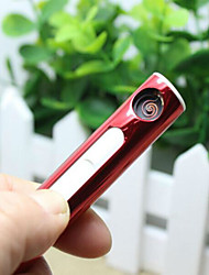 portátil USB recarregável eletrônico isqueiros cigarro de tabaco sem chama Isqueiro nenhum gás / combustível