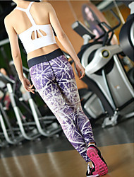 Running Tights / Pants/Trousers/Overtrousers / Leggings / Bottoms Women's Breathable / Quick Dry / Compression / Sweat-wicking TactelYoga