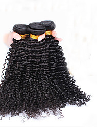 Indian Curly Virgin Hair CARA Hair Products Unprocessed Indian Virgin Hair Kinky Curly 3Pcs Human Hair Weaves