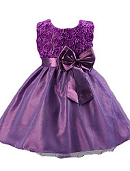 Girl's Dress,Acrylic Summer Blue / Pink / Purple