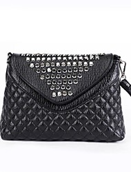 Women PU Casual / Outdoor Clutch / Wristlet Black