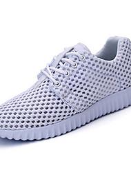Sapatos Corrida Feminino Preto / Branco Tule