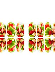 fruits fleur de fluorescence et le wapiti ongles bijoux
