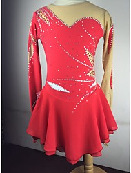 Jupes & Robes(Rouge) -Patinage-Femme-S / M / L / XL / 6 / 8 / 10 / 12 / 14 / 16