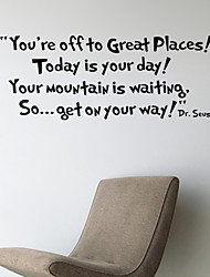 Wall Stickers Wall Decals, Words & Quotes You're Off PVC Wall Sticker