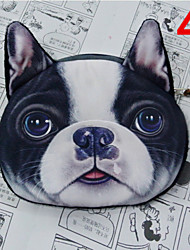 3D Dog Cartoon Purse Coin Bag Cosmetic Storage Bag Wallet Mobile Phone Bag Key Holders