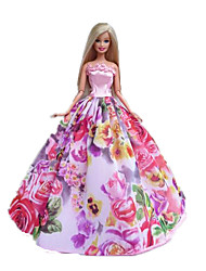Party & Evening Dresses For Barbie Doll Pink Dresses