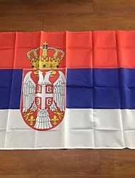 The Republic Of Serbia Flag , Srb Banner , Serbian Flag