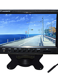 9 Inch TFT-LCD Car Rearview Monitor 2 AV Channel With Stand Reverse Backup Camera High Quality