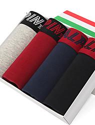 L'ALPINA Hommes Coton Boxer Short 4 / boîte - 21126