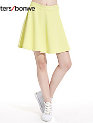 Meters/bonwe® Women's Knee-length Skirt-258002