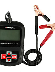 FOXWELL BT100 12V Car Battery Tester for Flooded, AGM, GEL Original BT 100 12 Volt Battery Analyzer