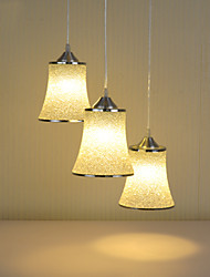 Max 60W Modern Style pendant lights/3-lights/ Resin Shade Cafe/Restaurant/Game Room/Cloths shop Chandelier