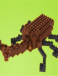 loz loz hercules bloques escarabajo de diamantes bloquean los juguetes juguetes DIY (80 piezas)