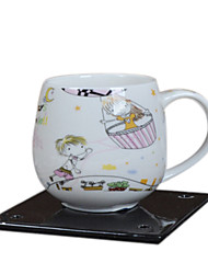 Light Pink Cartoon Children Breakfast Cup