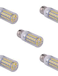 5 pcs e14 / G9 / E26 / E27 15 W 60 smd 5730 1500 lm chaud ampoules de maïs blanc blanc / froid ac 110/220 V