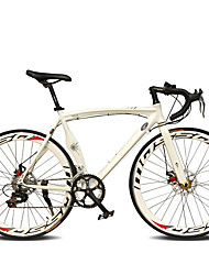 Road Bike Cycling 14 Speed 26 Inch/700CC 60mm Men's / Women's / Unisex SHIMANO TX-30 Double Disc Brake Ordinary Monocoque