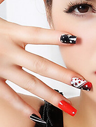 New DIY Sticker PVC Abstract Nail Jewelry
