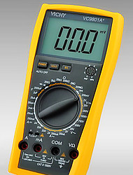VICHY VC9801A+ Yellow for Professinal Digital Multimeters