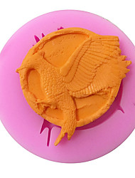 Mockingjay Shaped Silicone Fondant Cake Cake Chocolate Silicone Molds,Decoration Tools Bakeware