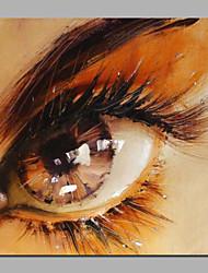 große Augenacrylmalereien modernes Design Größe 50x50cm für Badezimmer