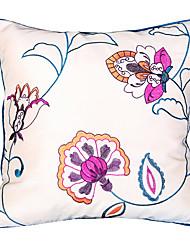 Polyester Housse de coussin,Floral Euro