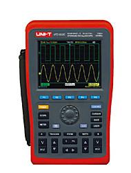 uni-t utd1202c vermelho por osciloscópios de bancada