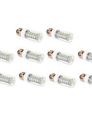 9W E26/E27 LED Corn Lights T 36 SMD 5630 760 lm Warm White / Cool White AC 220-240 V 10 pcs