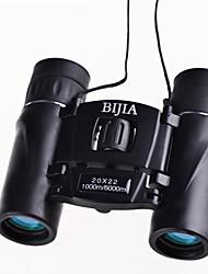 BIJIA 20 22 mm Fernglas HD BAK4 Wasserdicht / Generisches / Dachkant / Porro / High Definition / Spektiv / Nachtsicht 1000m/6000m #