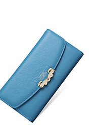 Nawo Donna Vacchetta Porta assegni Blu-N354001