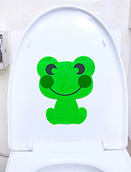 Cute Animal Toilet Stickers Stickers