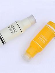 garrafas de 500ml de tempo de chá de plástico à prova de vazamentos copo garrafa de água portátil para desporto ao ar livre (cor